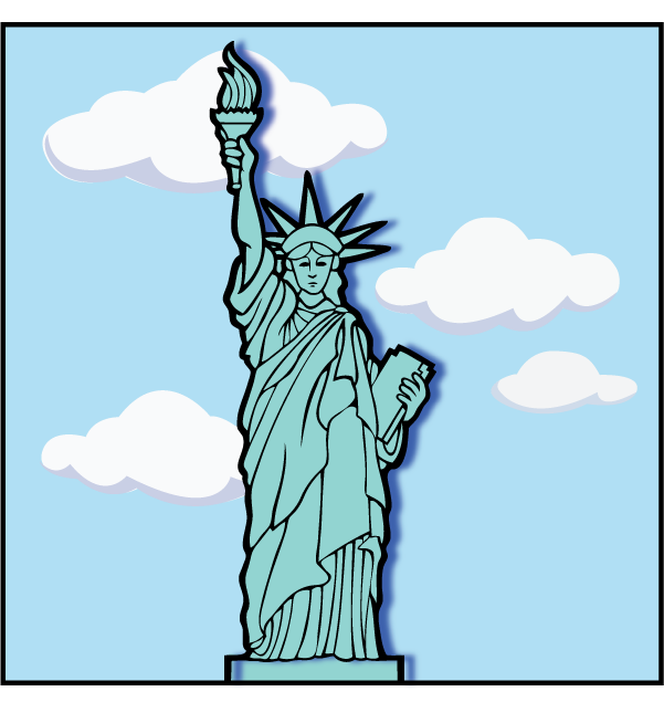 Statue of Liberty Model Picture