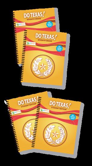 Do Texas! 7th Grade Homeschool Package