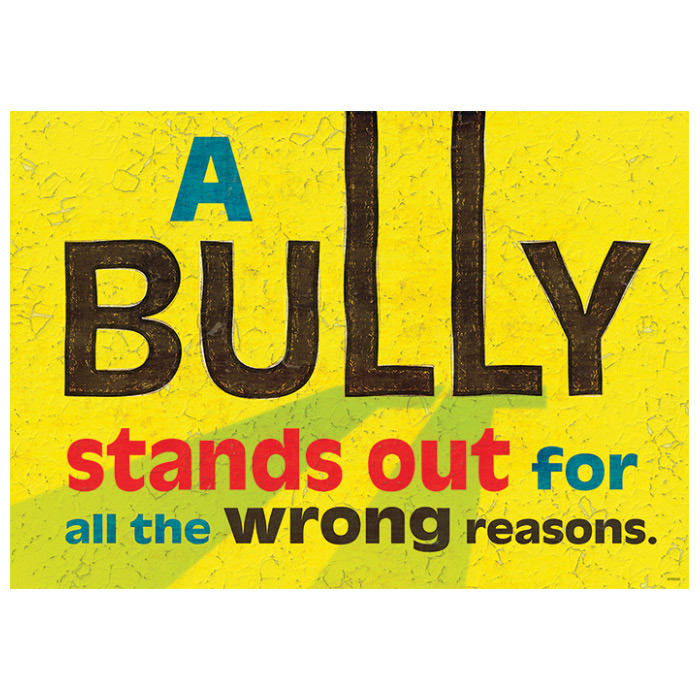 A Bully Stands Out ARGUS Poster