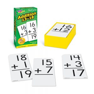 Addition Flash Cards 13-18