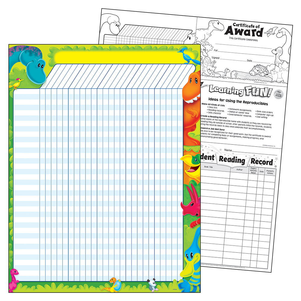 Trend Dino Mite™ Pals Incentive Chart T-73380