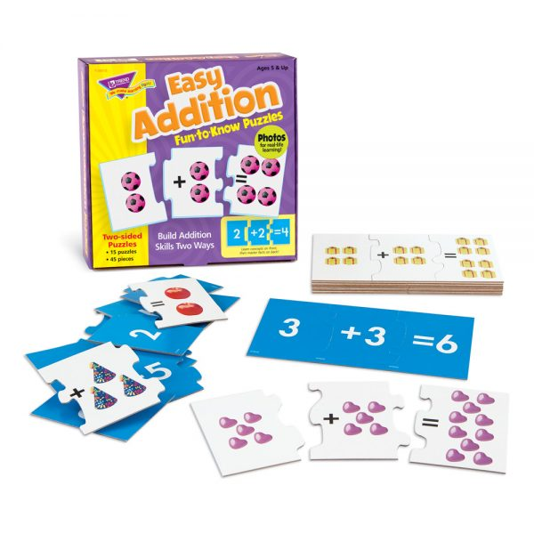 Trend Easy Addition Puzzles T36013