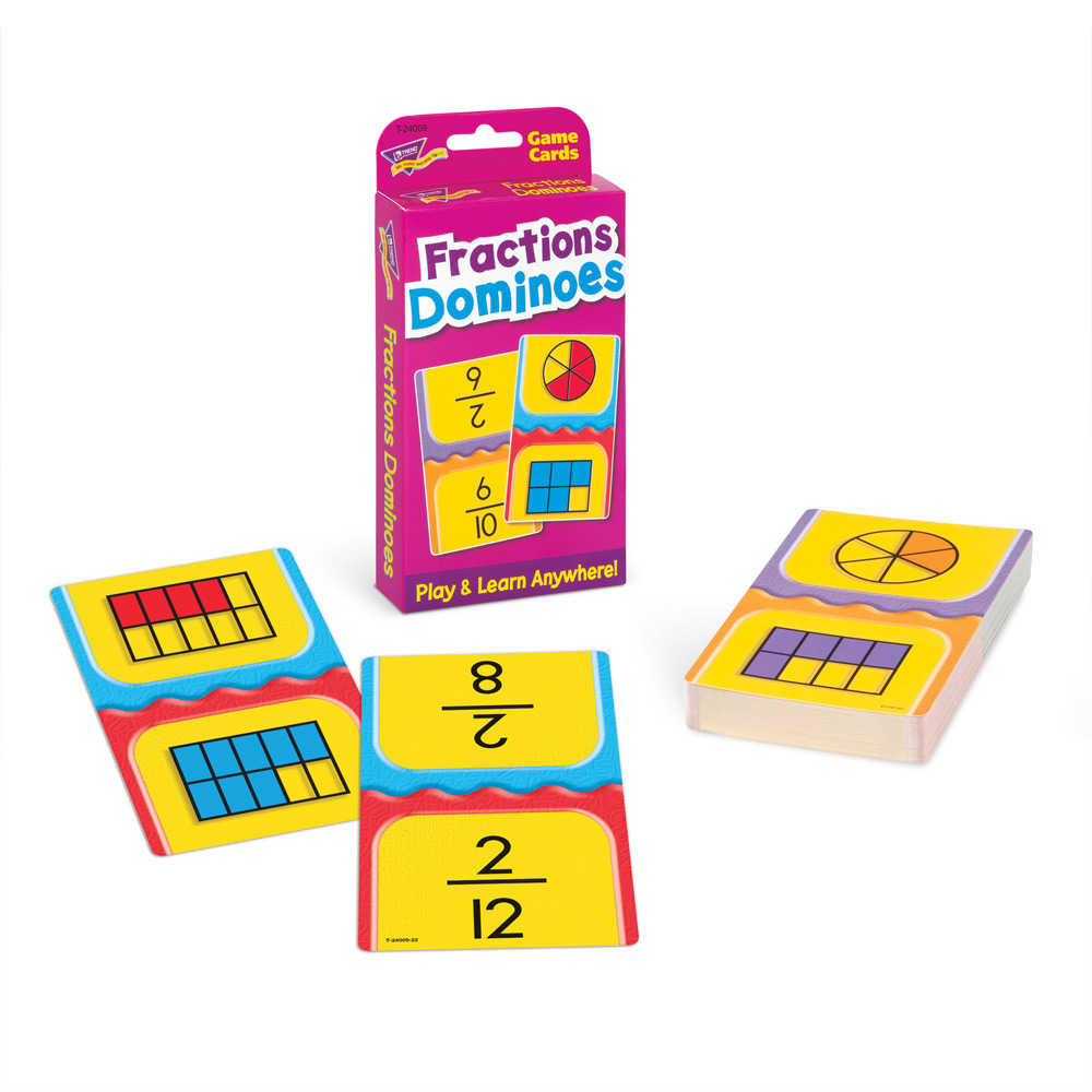 Trend Fraction Dominoes T24009