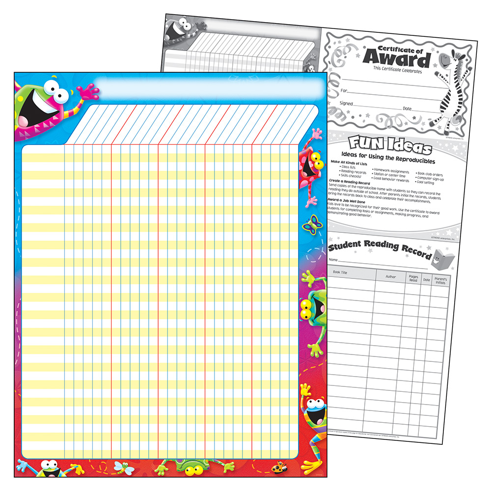 Trend Frog Tastic Incentive Chart T-73334
