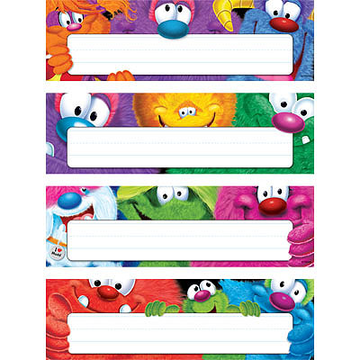 Furry Friends Name Plate Variety Pack