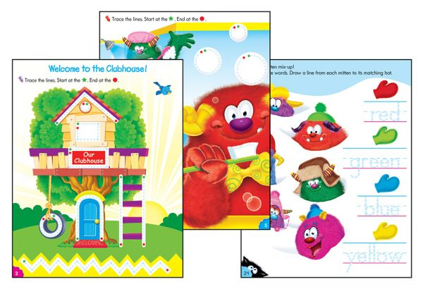 Trend Learning to Print Wipe-Off Book T-94145
