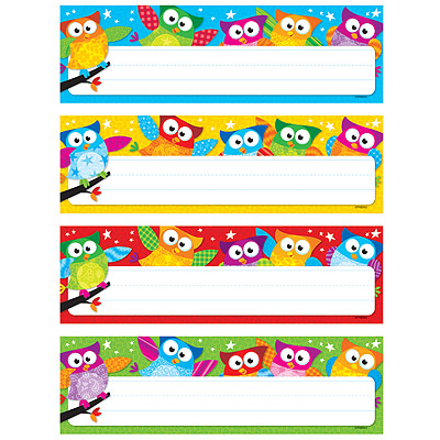 Owl Stars Name Plate Variety Pack