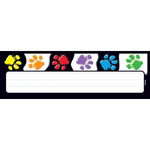 Trend Paw Prints Name Plates T-69070
