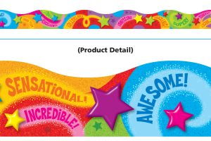 Trend Praise Words 'n Stars Border T92630