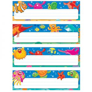 Sea Buddies Name Plate Variety Pack