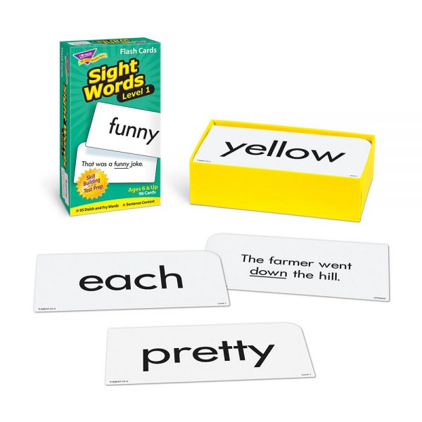 Sight Words 1 Flash Cards