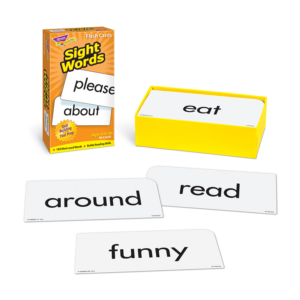 Sight Words Flash Card Review Pack