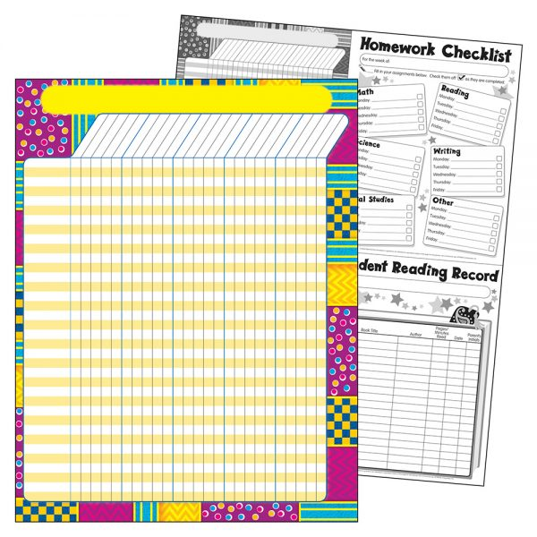 Trend Snazzy Incentive Chart T73362