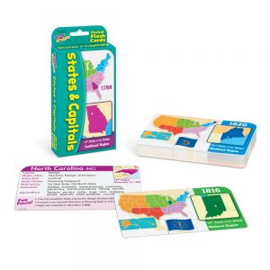 States and Capitals Flash Cards T23014