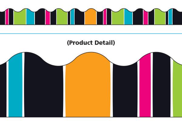 Trend Stripe Tacular Groovy Border T92830
