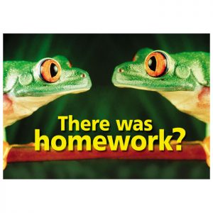 There Was Homework ARGUS Poster