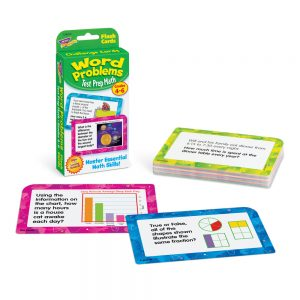Trend Word Problems Challenge Cards Grades 1-3 T24014