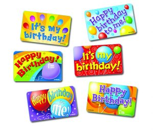 Birthday Time Stickers