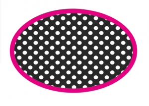 Black and White Dots Magnetic Whiteboard Eraser UPC 703185100489