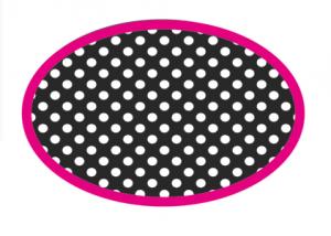 Black and White Dots Magnetic Whiteboard Eraser UPC 703185100489
