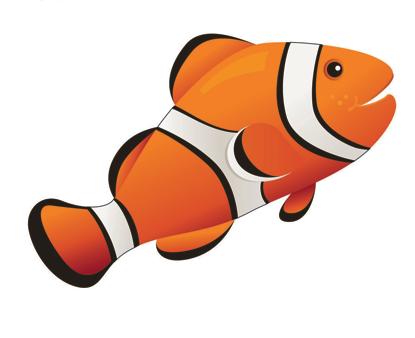 Clown Fish Magnetic Whiteboard Eraser UPC 703185100366