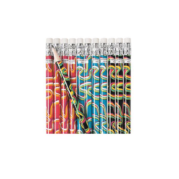 Crazy Waves Pencils