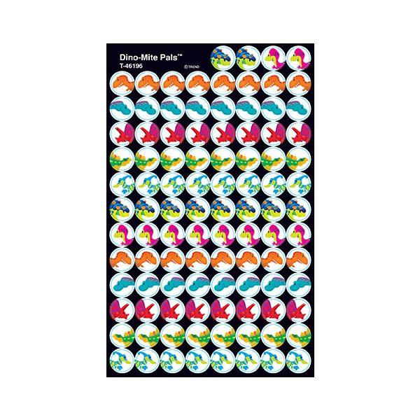 Dino-Mite Pals stickers