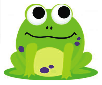 Frog Magnetic Whiteboard Eraser UPC 703185100212