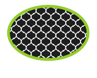 Moroccan Pattern Whiteboard Eraser UPC 703185100465