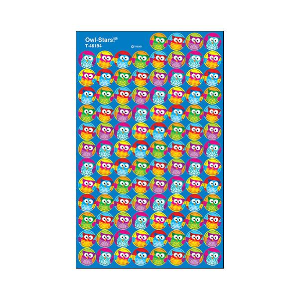 Owl-Stars Stickers