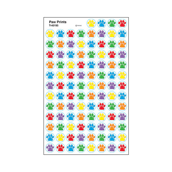 $3.69 Add to cart · Paw Prints Stickers  sc 1 st  Splash! Publications : paw print paper plates - pezcame.com