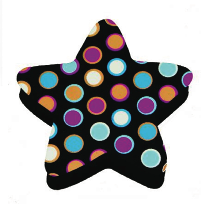 Star Dots Magnetic Whiteboard Eraser UPC 703185100175