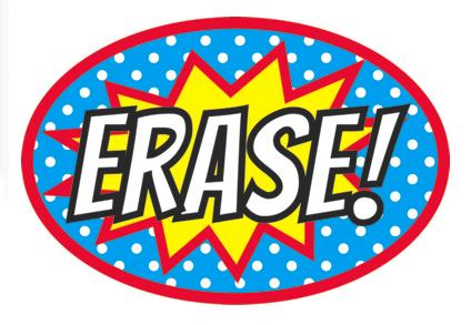 Superhero Erase Magnetic Whiteboard Eraser UPC 703185100175