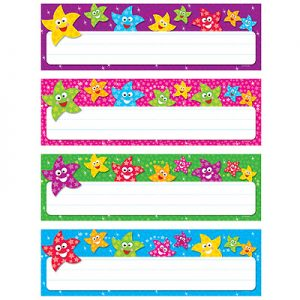 Dancing Stars Desk Toppers Name Plates Variety Pack