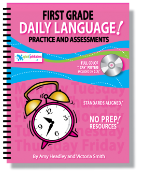 First Grade Daily Language Practice and Assessments