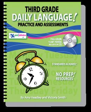 Third Grade Daily Language Practice
