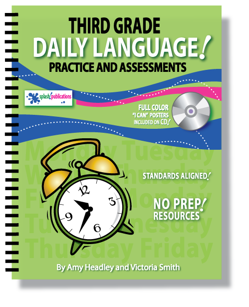 Third Grade Daily Language Practice