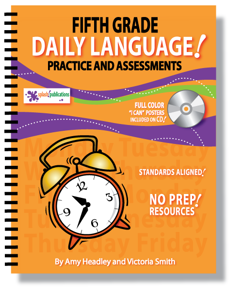Fifth Grade Daily Language Practice