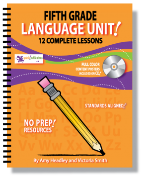 5th Grade Language Unit