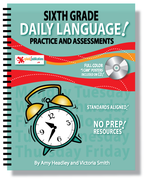 Sixth Grade Daily Language Practice