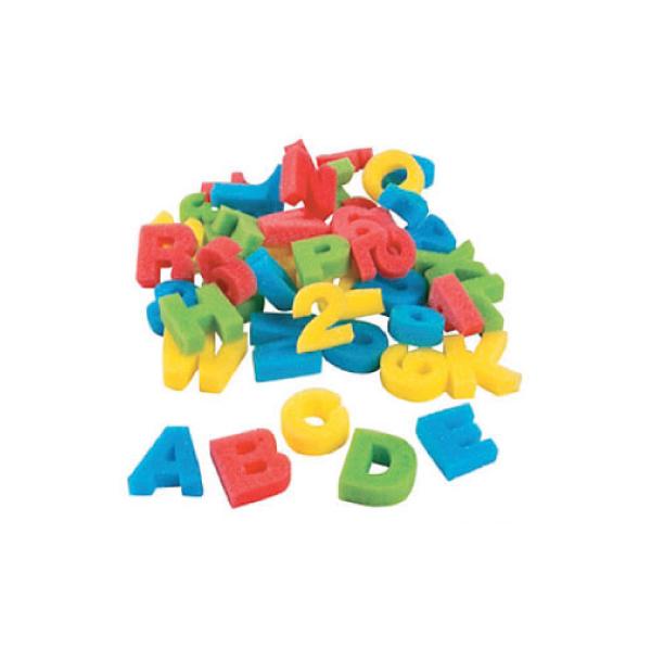 Alphabet & Number Sponges