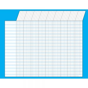 Blue Horizontal Incentive Chart