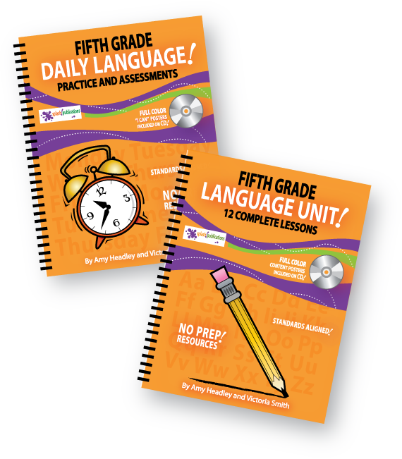 Fifth Grade Langauge Bundle