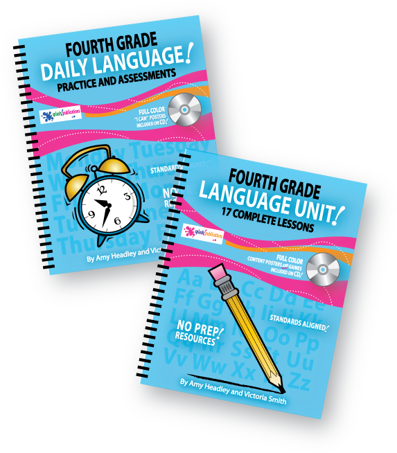 Fourth Grade Language Bundle