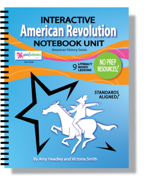 American Revolution Interactive Notebook Unit