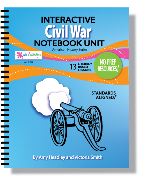 Civil War Interactive Notebook Unit