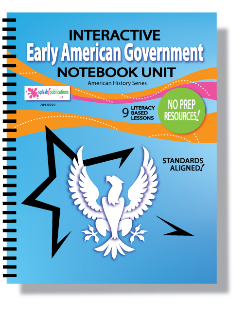 Early American Government Interactive Notebook Unit