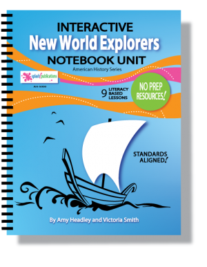 New World Explorers Interactive Notebook Unit