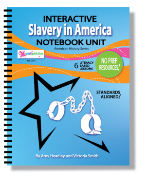 Slavery in America Interactive Notebook Unit