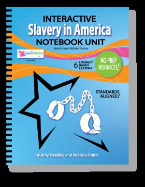 Slavery in America Interactive Notebook Unit